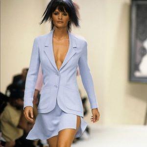 Chanel Vintage Spring 1994 Navy Blue CC 94p Jacket